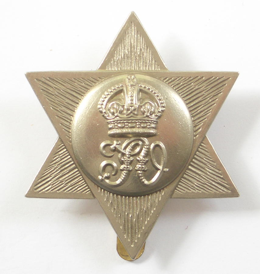 Trinidad Volunteers cap badge circa 1902-45