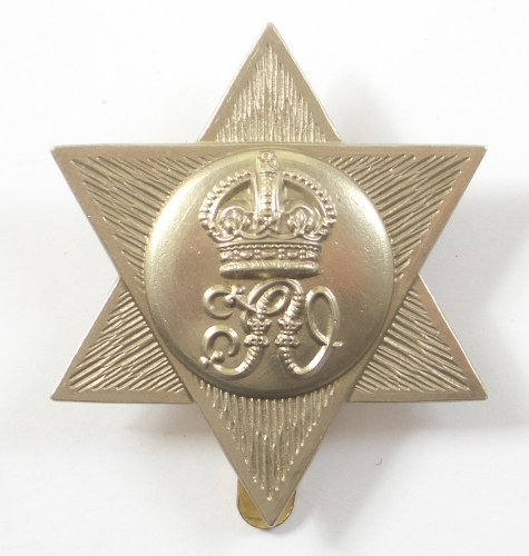 Trinidad Volunteers cap badge circa 1902-45