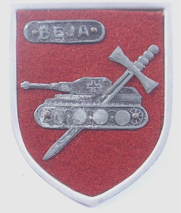 WW2 rare Beja battle badge.