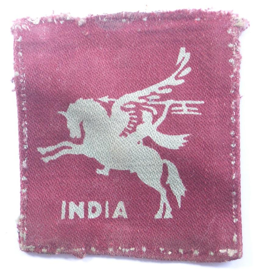 44th Indian Airborne Division formation sign