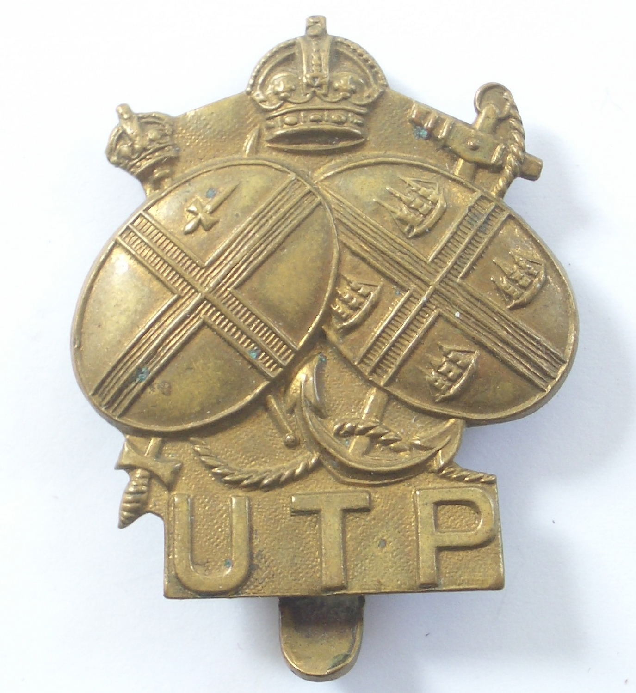 WW2 Upper Thames Patrol HG cap badge