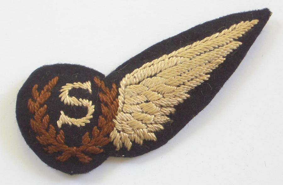 RAF WW2 Aircrew Signaller's brevet