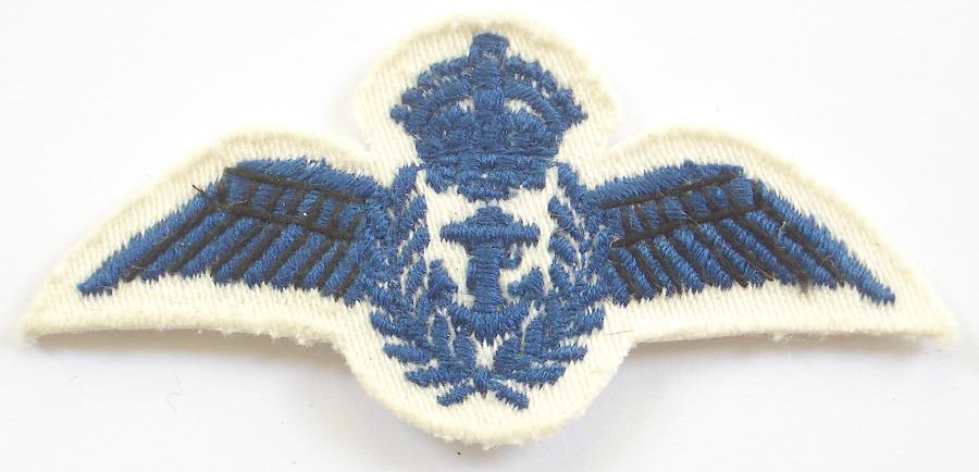 WW2 RN Fleet Air Arm rating pilot's wing