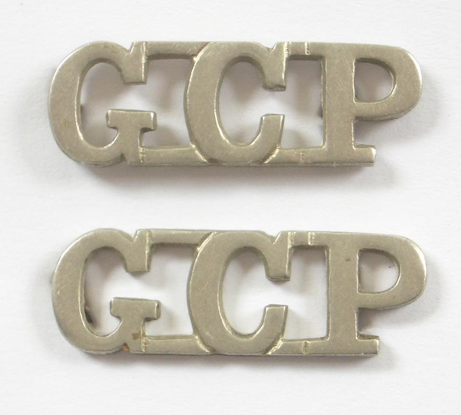 Gold Coast Police pair of shoulder titles