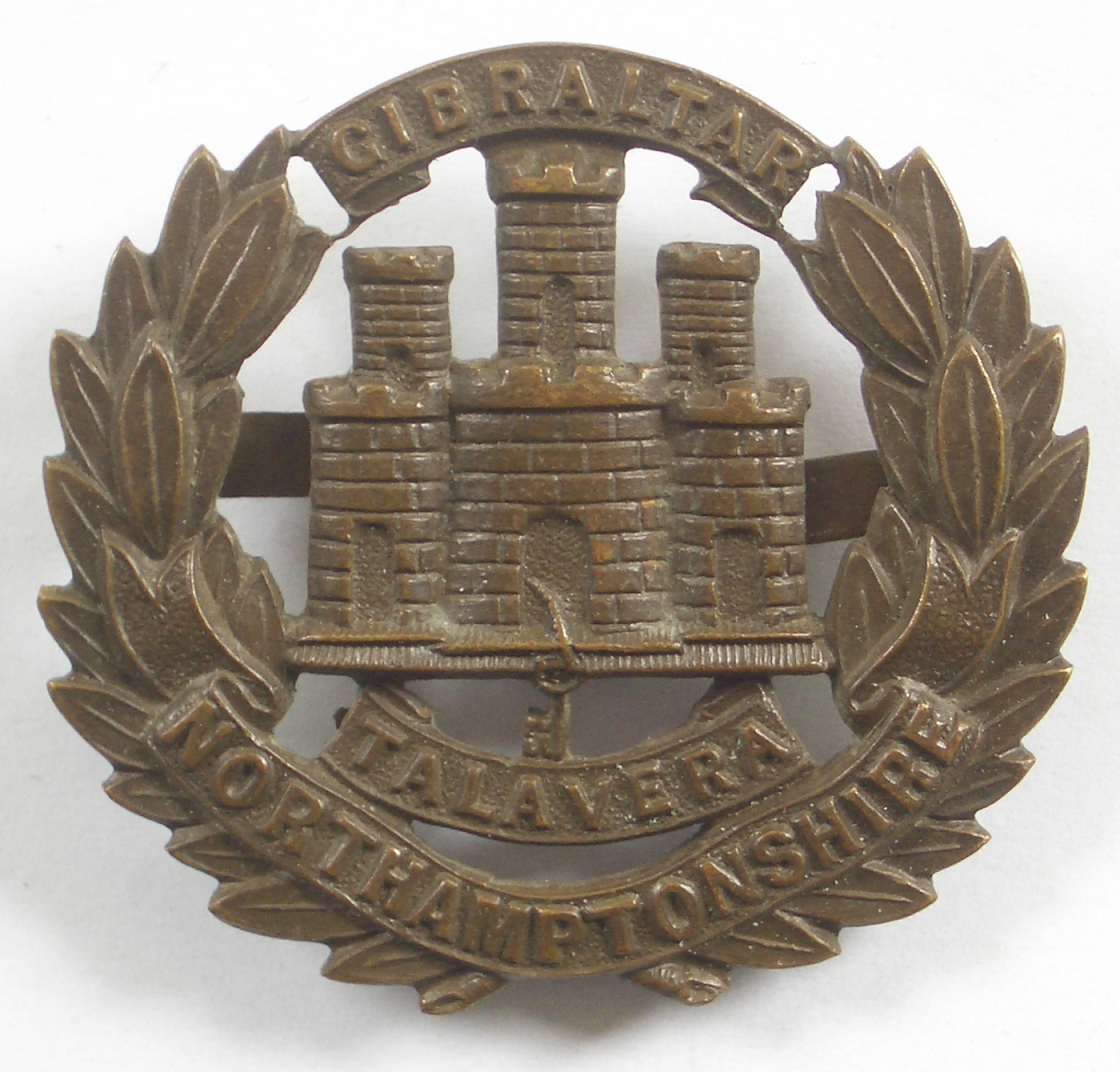 Northamptonshire Regiment OSD cap badge