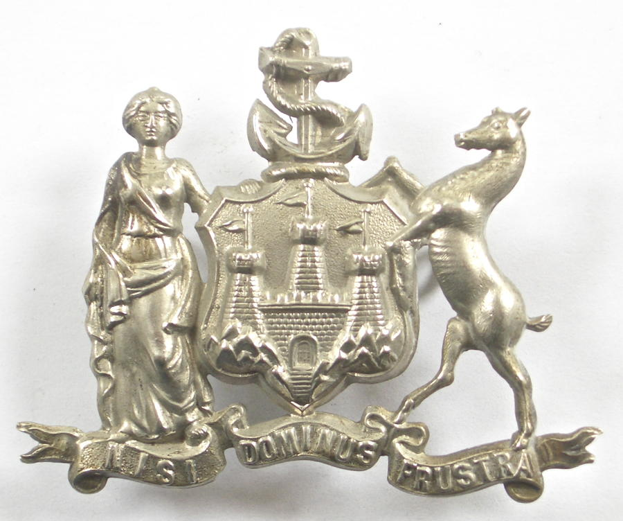 Edinburgh City Police cap badge
