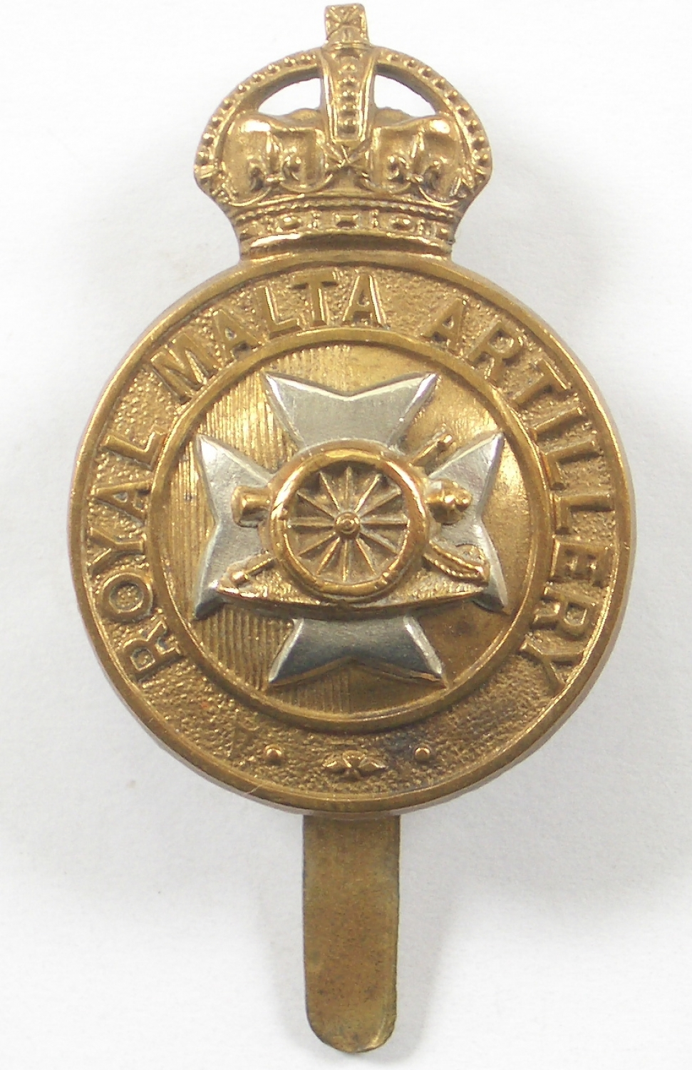 Royal Malta Artillery cap badge
