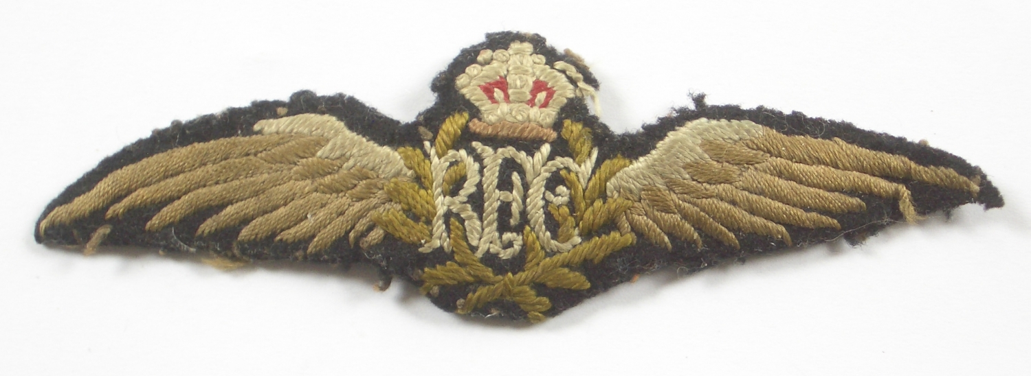 Royal Flying Corps WW1 RFC pilot's wing