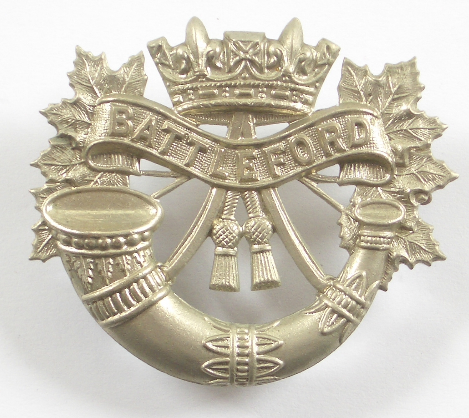 Canadian Battleford Light Infantry cap badge
