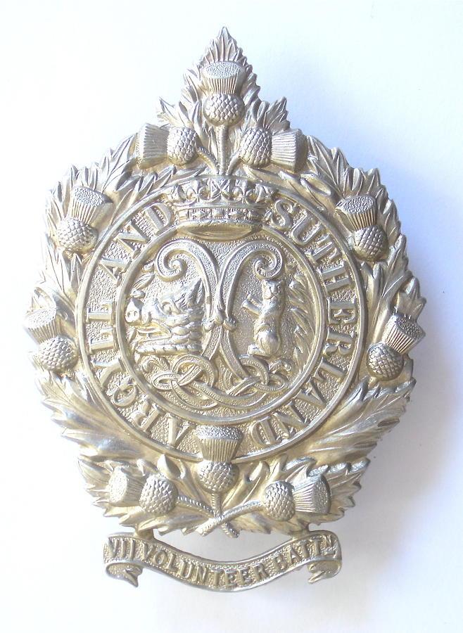 7th VB Argyll & Sutherland glengarry badge