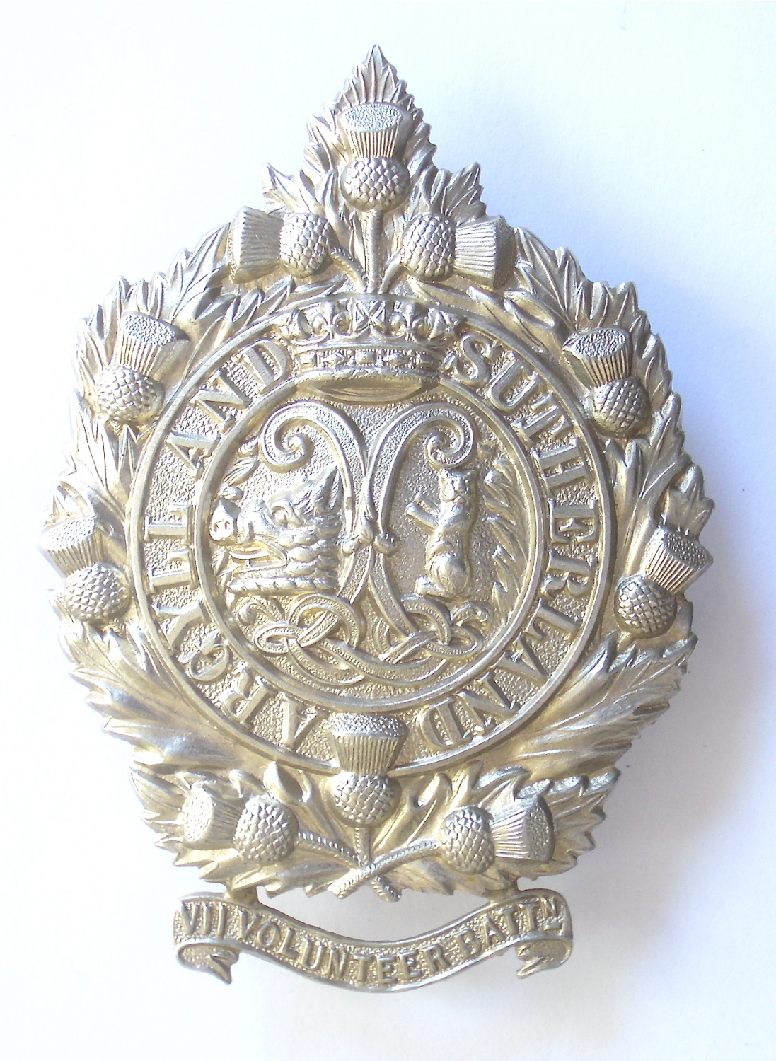 7th VB Argyll & Sutherland glengarry badge
