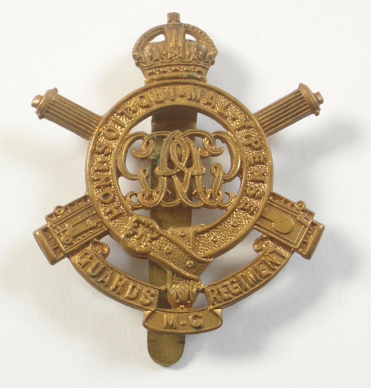 guards machine gun regiment cap badge in infantry. Black Bedroom Furniture Sets. Home Design Ideas