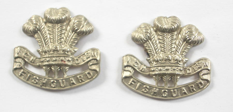 Pembroke Yeomanry pair of collars