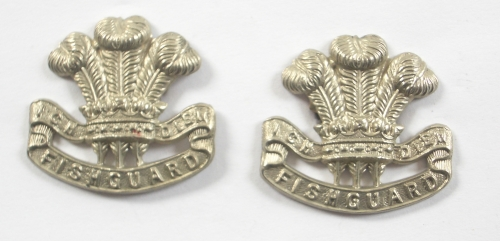 Pembroke Yeomanry pair of collars