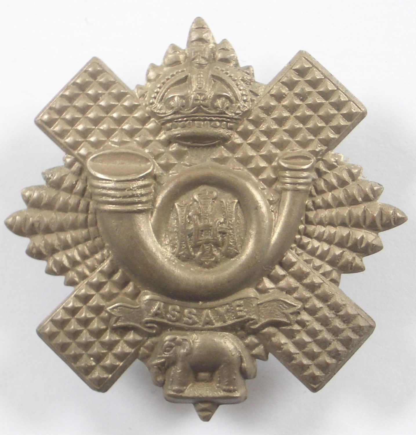 Highland Light Infantry glengarry badge