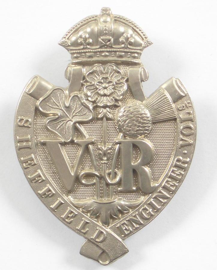 Sheffield Engineer Vols glengarry badge