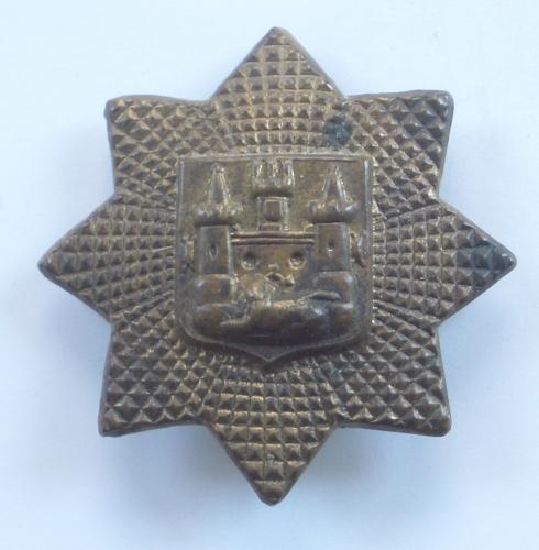 East Surrey Regt 1st pattern rare pagri badge