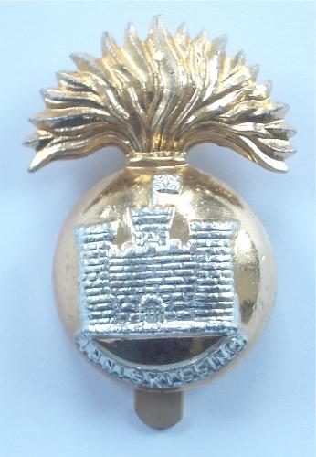 Inniskilling Fusiliers anodised cap badge