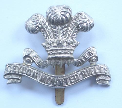 Ceylon Mounted Rifles cap badge