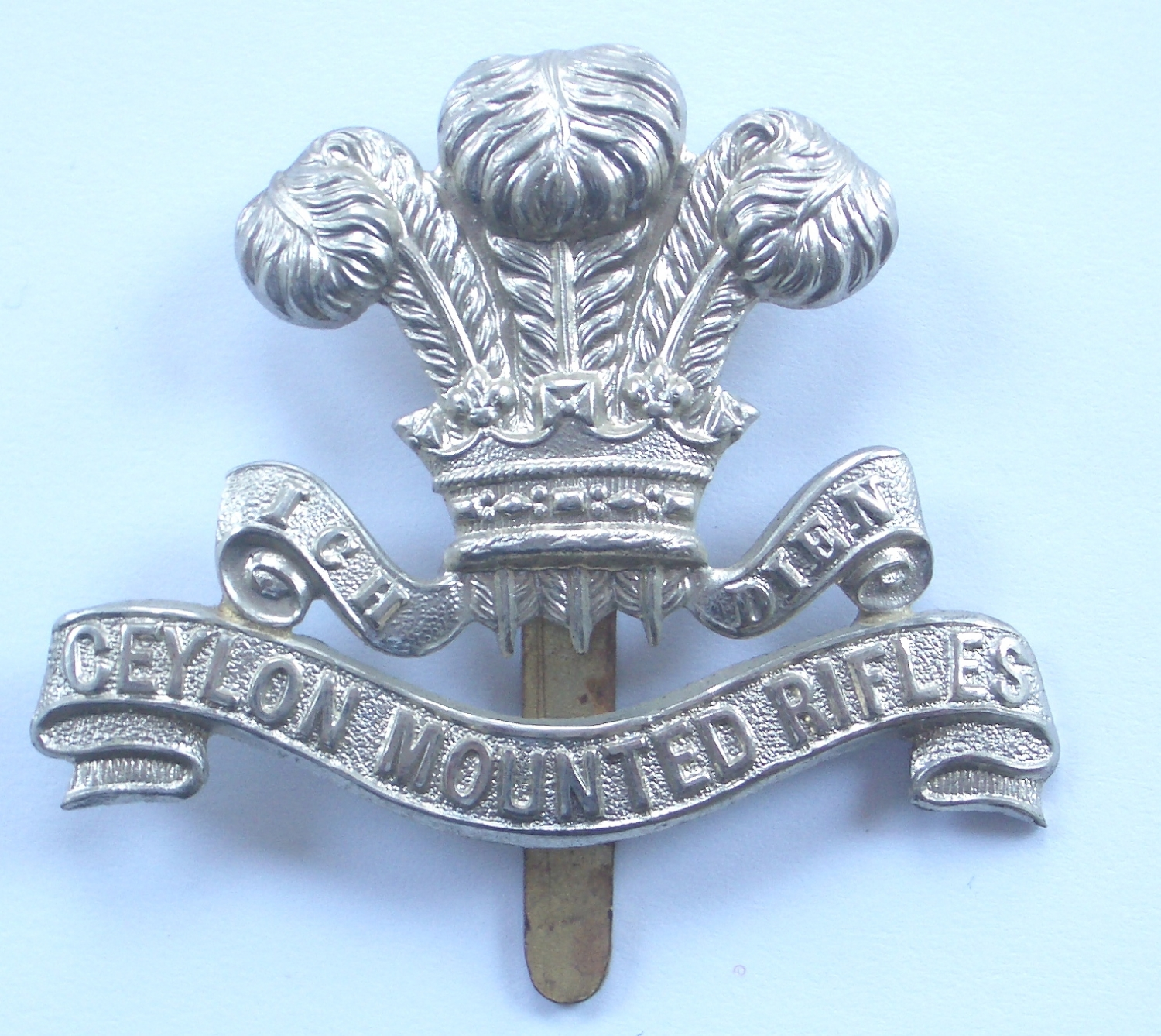 Ceylon Mounted Rifles cap badge