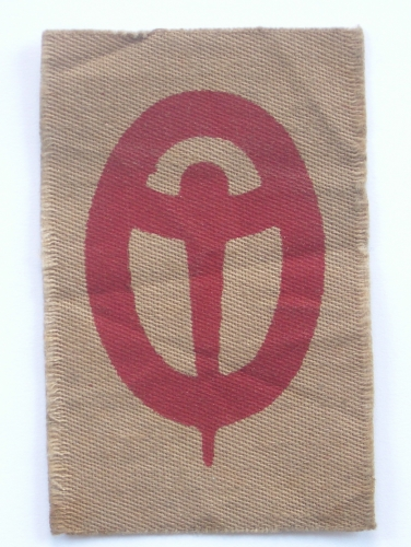 4th Anti-Aircraft Div 1st pat formation sign
