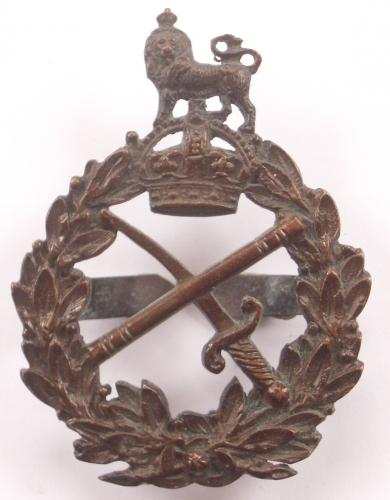 WW1 General's bronze cap badge