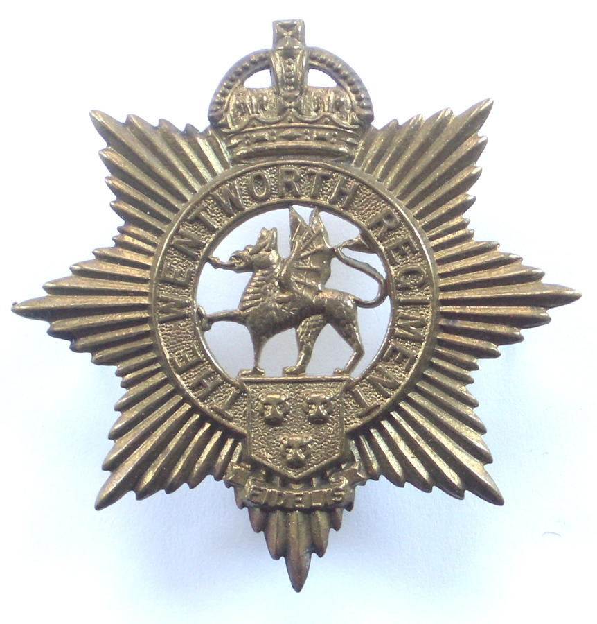 Canadian Wentworth Regiment cap badge