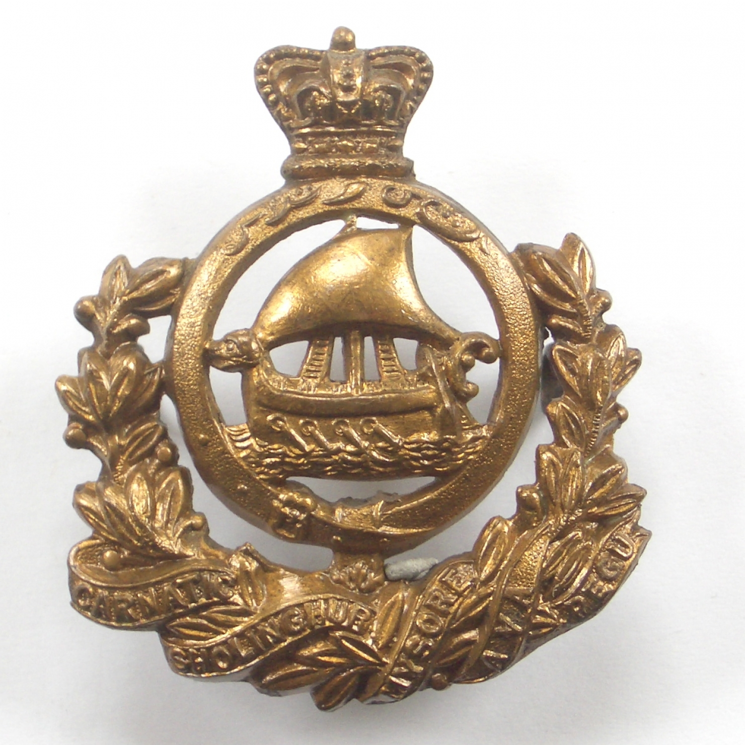 9th Madras Native Infantry cap badge