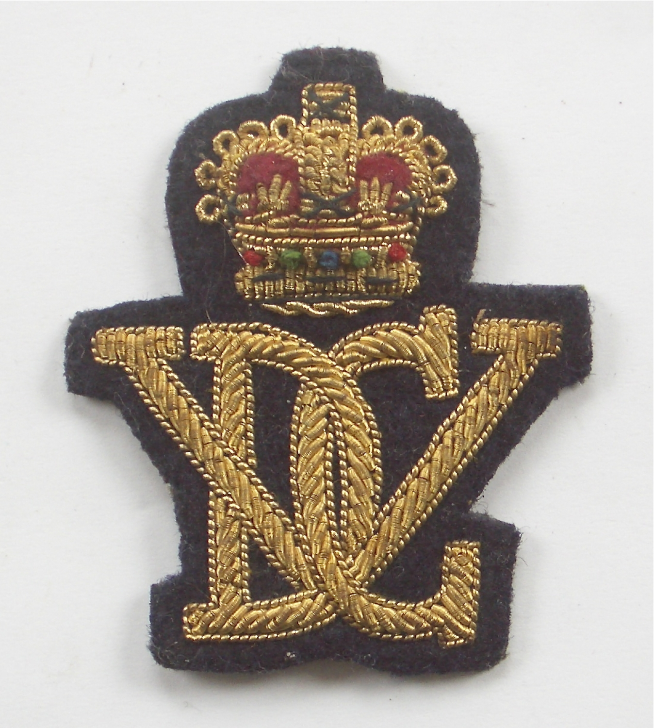 5th R. Inniskilling DG Officer's cap badge