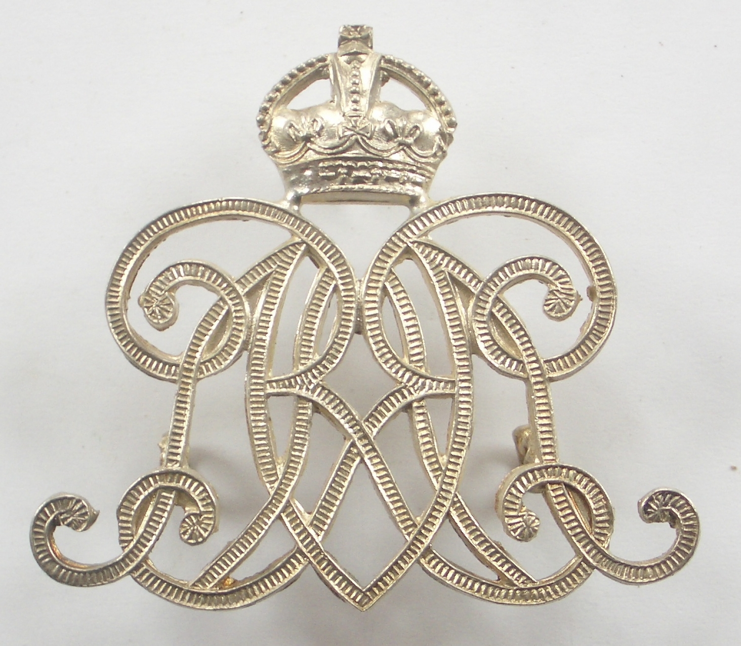 9th Lancer's NCO's silvered arm badge
