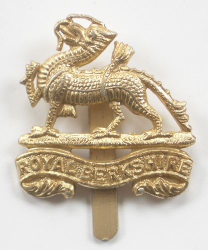 Royal Berkshire Regiment anodised cap badge