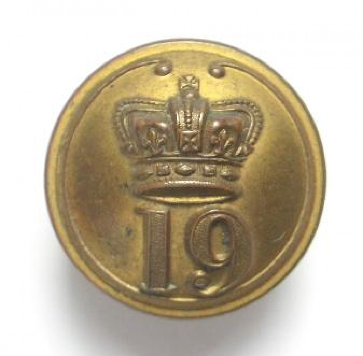 19th (1st York, N Riding) Foot Button