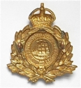 British Guiana Militia  brass cap badge. - picture 2
