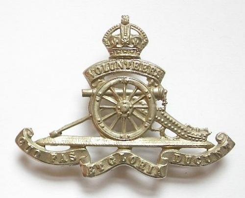 Volunteer Artillery OR cap badge