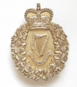 London Irish Rifles silver pouch belt plate - picture 1