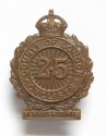 25th County of London Cyclists cap badge - picture 1