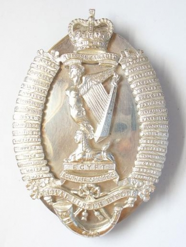 Royal Ulster Rifles Officer pouch belt plate