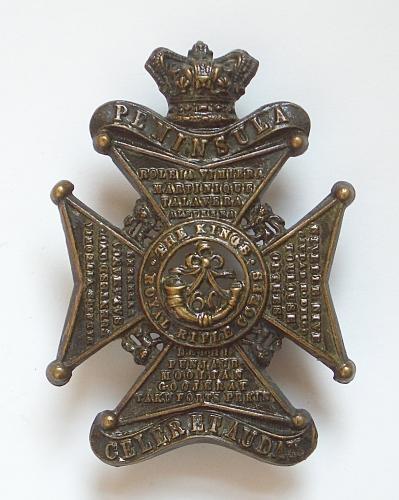 60th King's Royal Rifle Corps OR's glenga