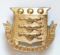 Army Ordnance Corps large Victorian cap badge - picture 1
