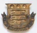 Army Ordnance Corps large Victorian cap badge - picture 2