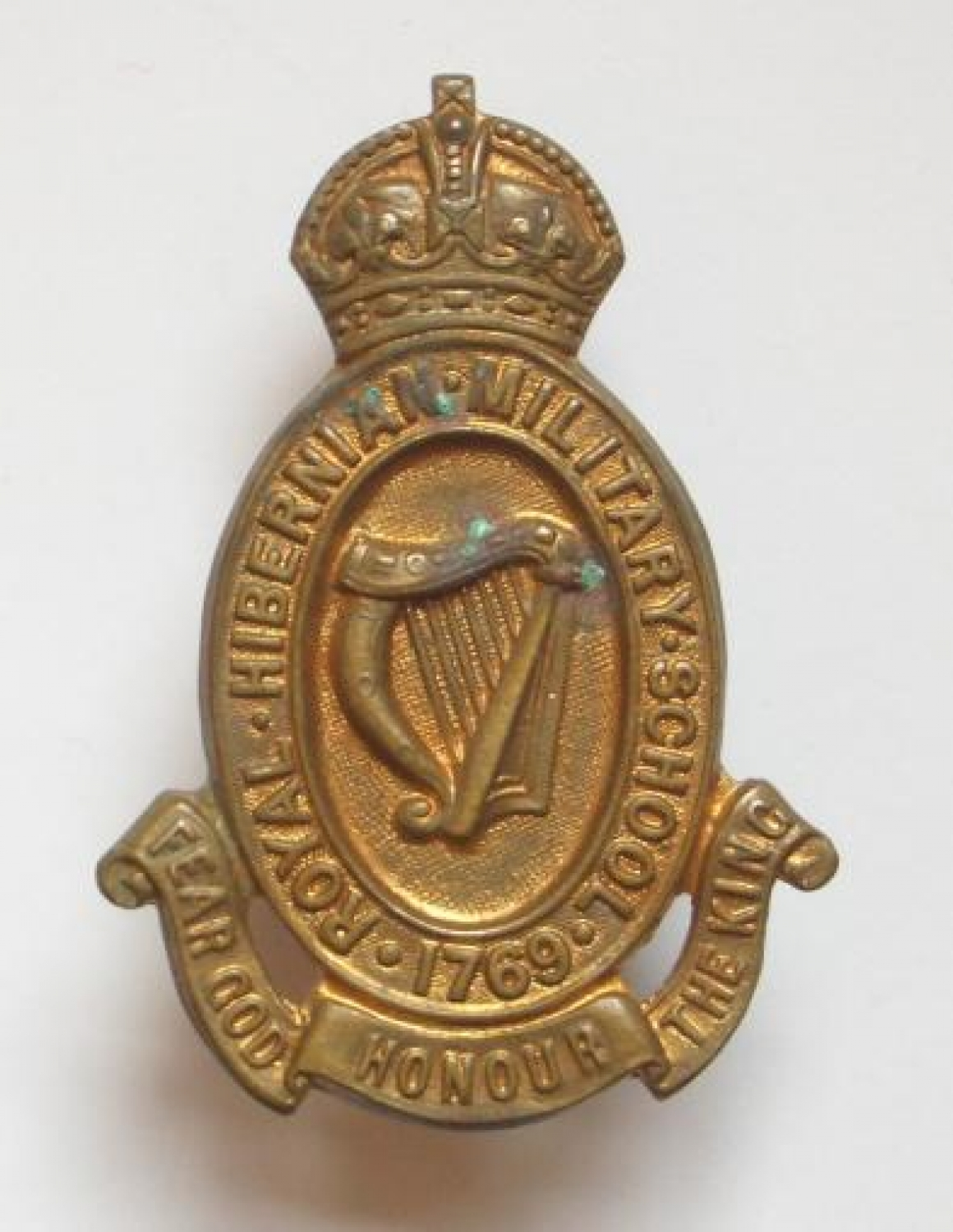 Royal Hibernian Military School badge