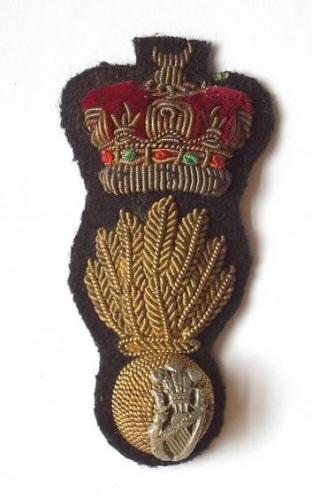 Royal Irish Fusiliers Officer's cap badge