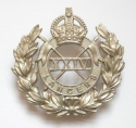 24th Lancers WW2 NCO's white metal arm badg - picture 1