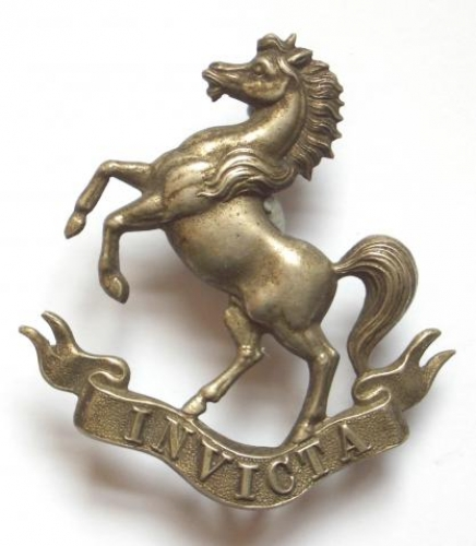 Kent Rifle Volunteers glengarry badge