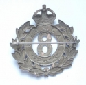 8th Rajputs Officer's 1919 HM silver badge - picture 2