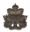 187th (Central Alberta) Bn CEF Officer badge - picture 2