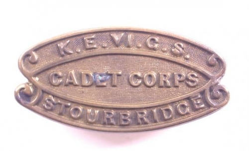 K.E. VI.G.S./CADET CORPS/STOURBRIDGE title