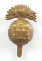 Inniskilling Fusiliers WW1 brass cap badge - picture 1