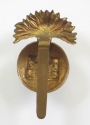 Inniskilling Fusiliers WW1 brass cap badge - picture 2