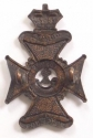 2nd City of London Rifles Victorian badge - picture 2